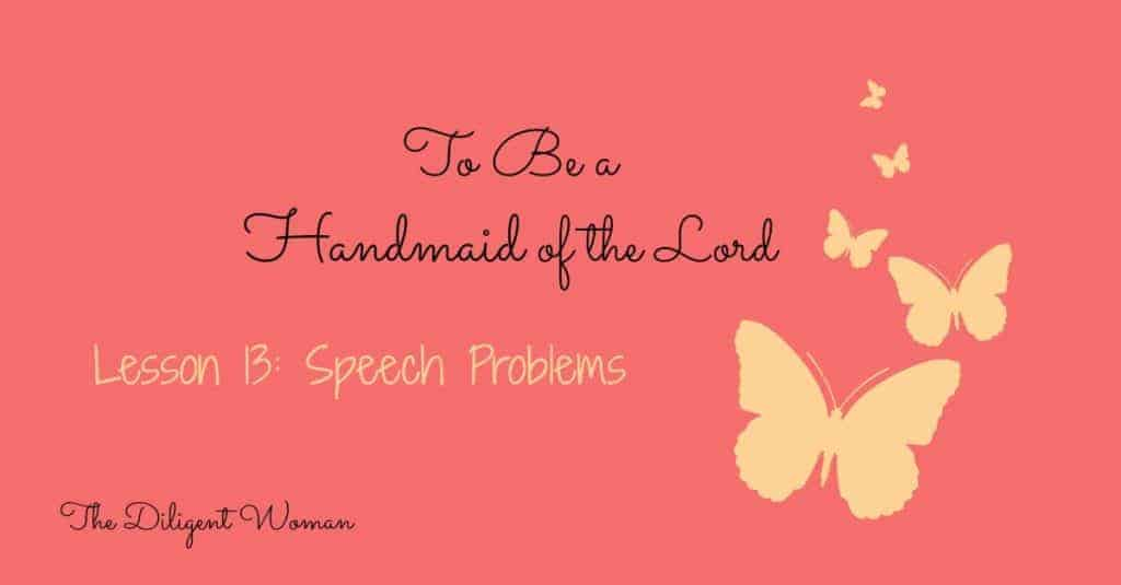 Speech Problems