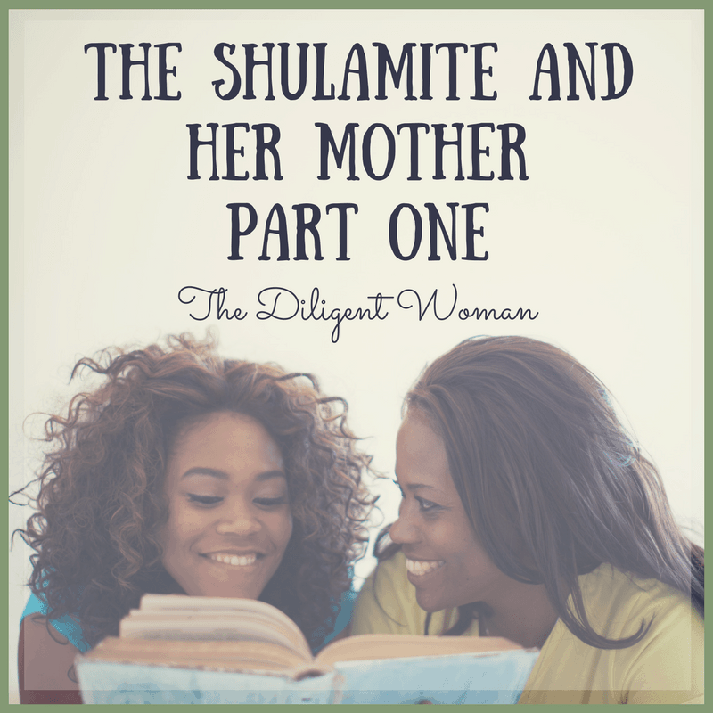 The Shulamite and Her Mother