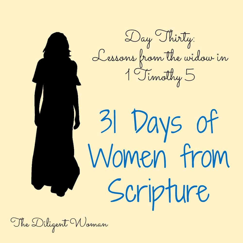 Lessons from the Widow of 1 Timothy 5