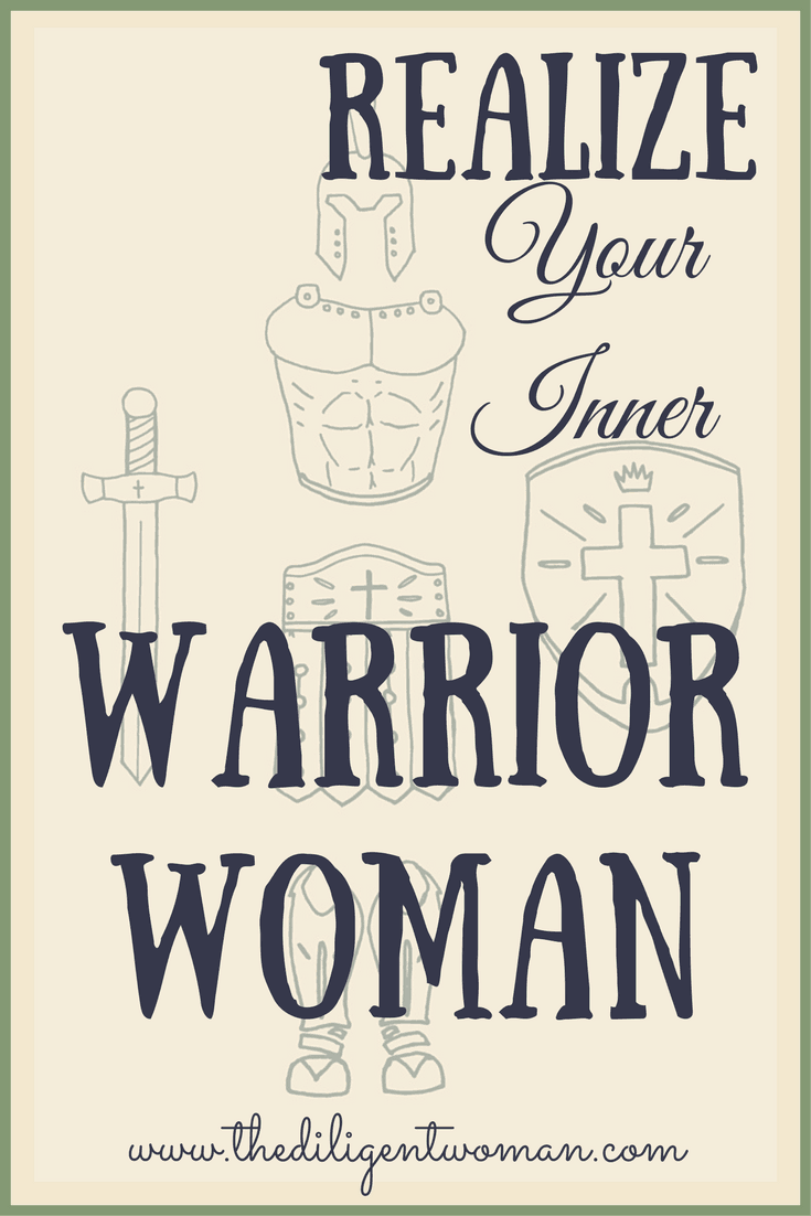 Image of soldier armor Warrior Woman