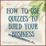 Business Building Tools - Quizzes