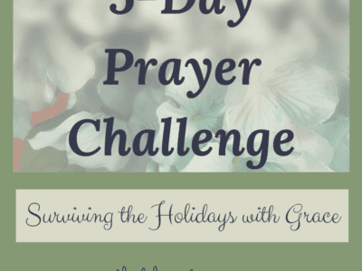 5-Day Prayer Challenge – Holiday Edition