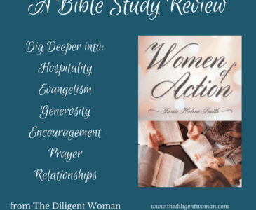 Finding a woman who will teach like older woman in Titus 2 may be hard. Women of Action was written