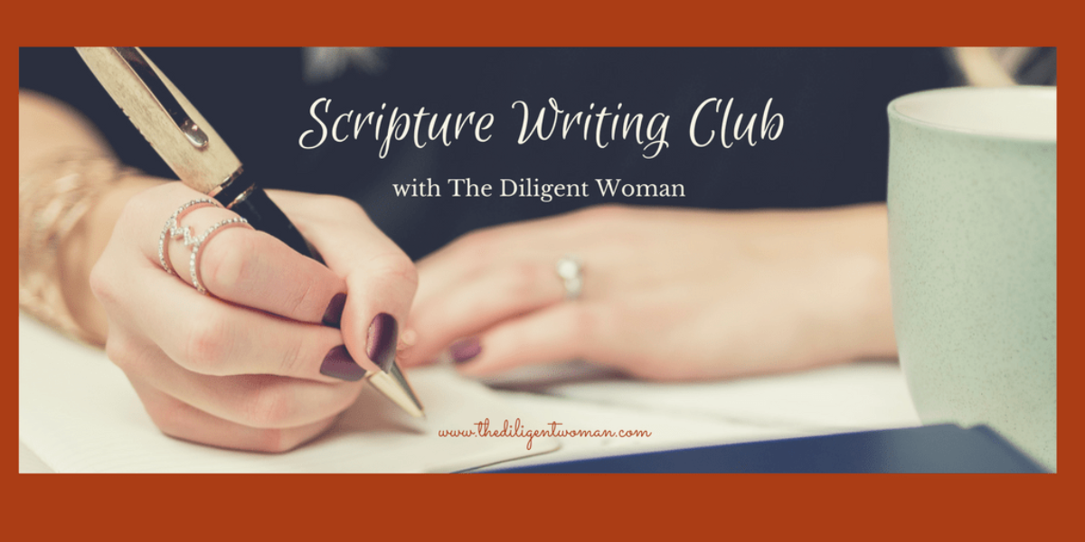 Scripture Writing Club Twitter
