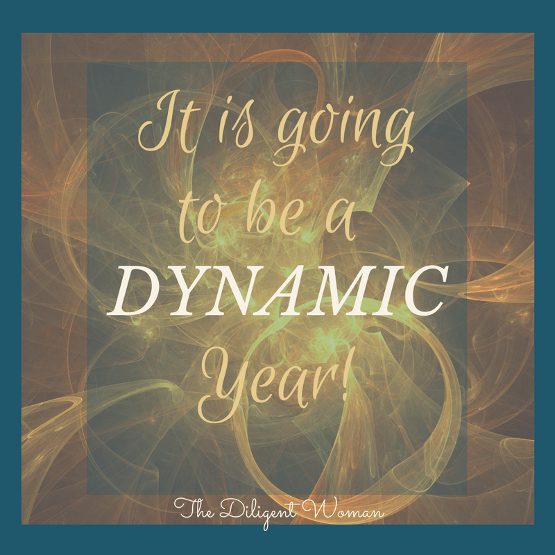 Diligent. Intentional. Focused. Growth. All things that have come through the efforts of applying scripture at The Diligent Woman. This year I am looking to be dynamic. Let's make a dynamic difference for women through the study of God's word. Will you join me?