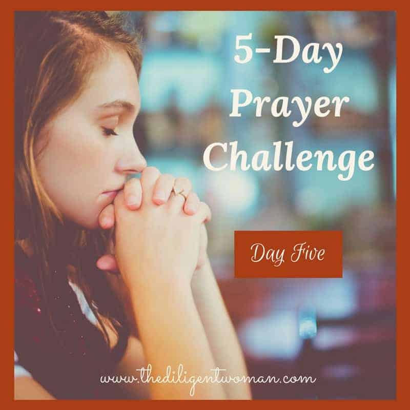 5-Day Prayer Challenge – New Year Edition – Day 5