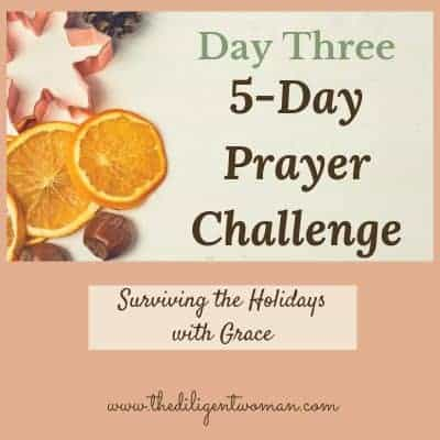 5-Day Prayer Challenge – Holiday Edition – Day Three – How to Pray Scripture