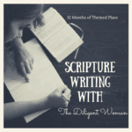 2019 Scripture Writing Plans