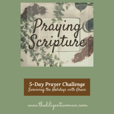 How to Pray Scripture – 5-Day Prayer Challenge – Holiday Edition – Day Three