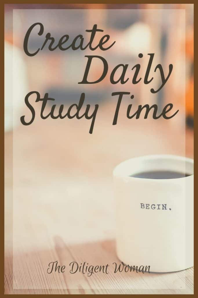 Make Daily Study time a goal this year. Make it simple by choosing a scripture writing plan to guide your study. It is one simple way to create a daily study time you will be eager to do every day.