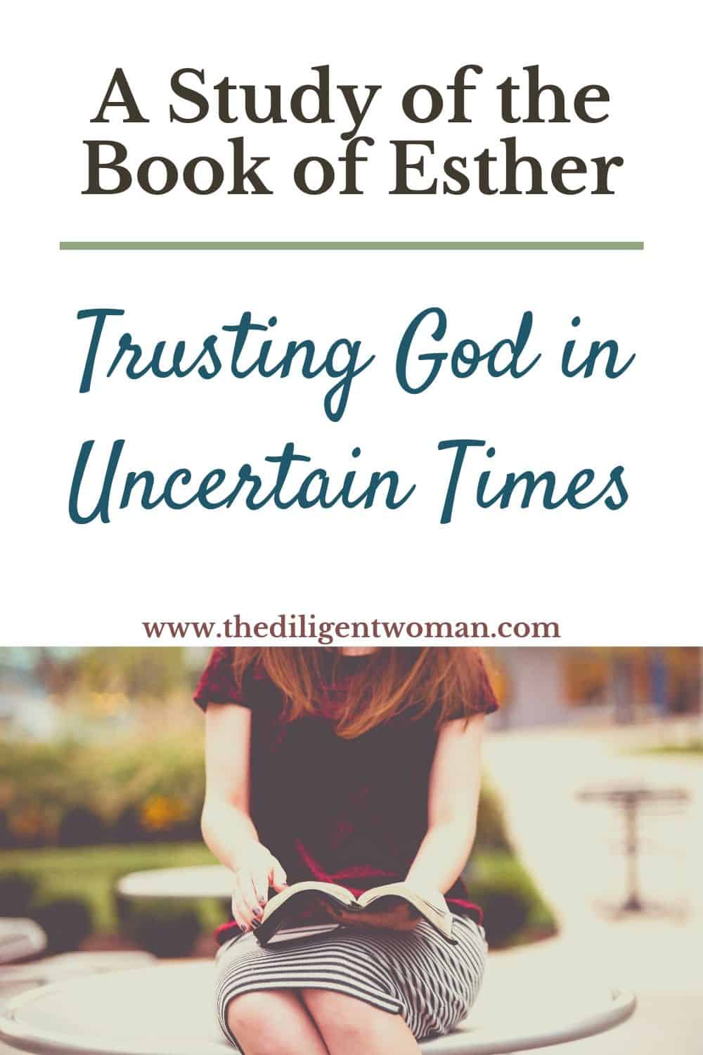 Study the Book of Esther to learn how to thrive with faith and courage in times of uncertainty. The Diligent Woman study walks you through the entire book of Esther. See how faith and obedience are the foundation for courage in difficult times. Join the study today!