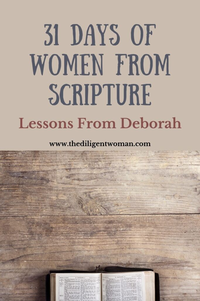 Lessons from Deborah in the Bible